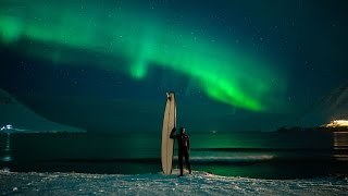 Surfing Under An Arctic Sky | Chris Burkard
