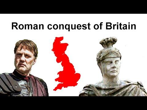 Roman Conquest Of Britain (43–84 AD)