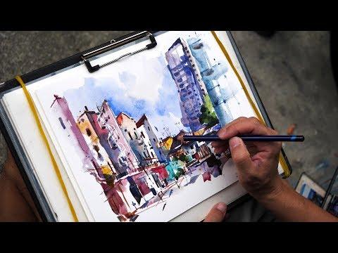 Sketchwalk at Little India, Kitchener & Jalan Besar (25 Nov 2017)