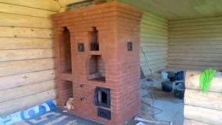 Камино-Печь в Деревянном Доме
