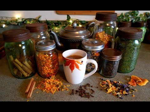 Favorite Herbal Tea Blends