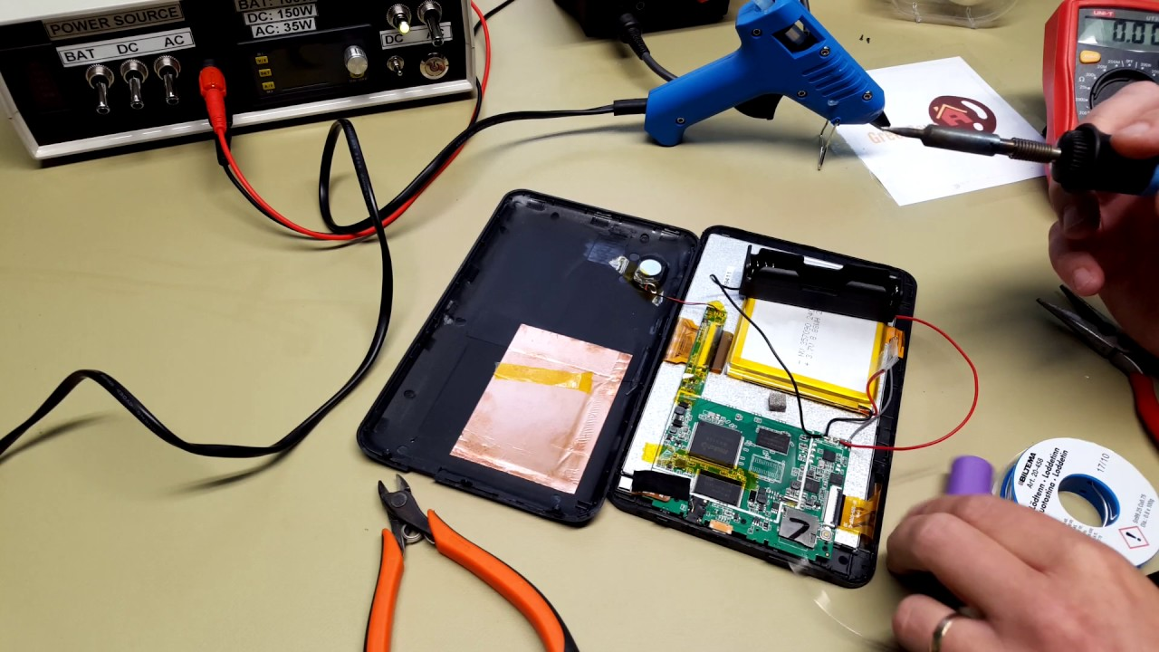 Android tablet battery modification double the capacity youtube android tablet battery modification double the capacity greentooth Image collections