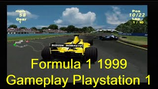 Formula 1 1999 Gameplay Playstation 1