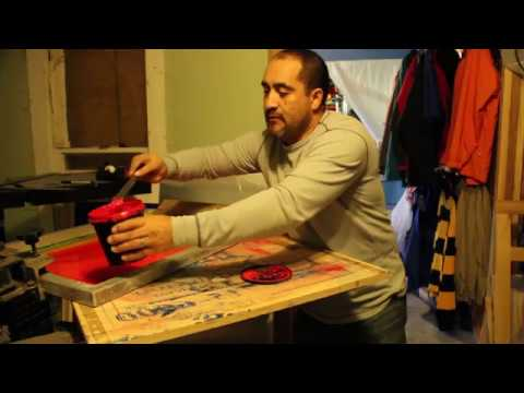 screen printing HOW TO MAKE YARD SIGNS