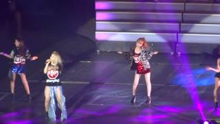 YG Family Concert in Singapore 2014 - 2NE1 - I AM THE BEST