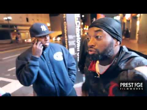 Homeless Man Spits Freestyle For Cassidy!...
