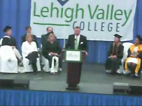 Lehigh Valley College - Bill Rambo Commencement Speech