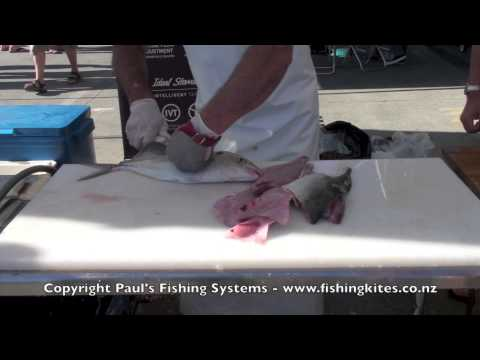 Cleaning Fish   Skinning Boning And Filleting Trevally