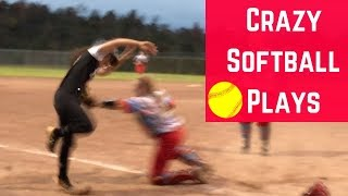 Crazy Softball Plays//Softball Tournament Vlog