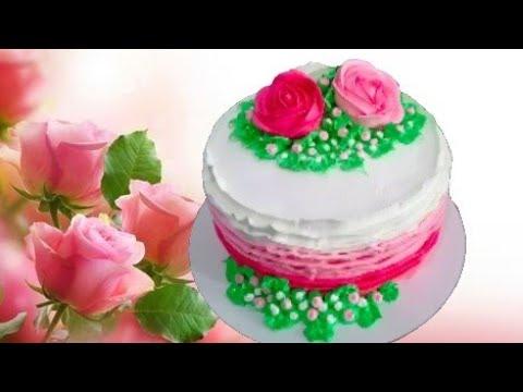 Торт с розами на день рождения 🌹🌹🌹 Наталья Торт Sweet Stories