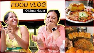 Delhi's MOST Famous STREET Food ... | #KrishnaNagar #FoodVlog #ShrutiArjunAnand #CookWithNisha