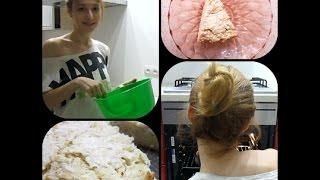 Простой рецепт творожно-яблочного пирога