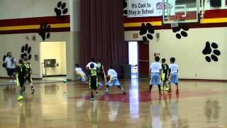 Victorville NJB All-Stars vs Walnut All-Stars 2015 Basketball