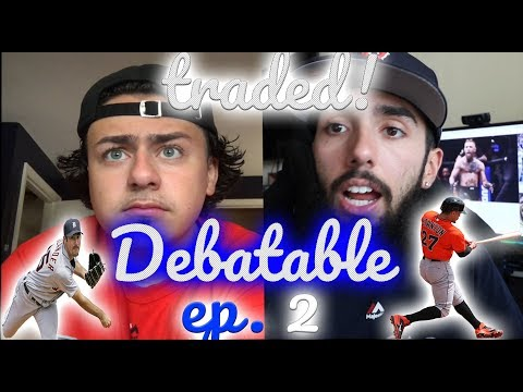 DEBATABLE Episode 2 - JUSTIN VERLANDER AND GIANCARLO STANTON TRADES, LA DODGERS WIN THE WORLD SERIES