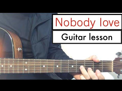 Tori Kelly - Nobody Love (Guitar Lesson) Guitar Tutorial