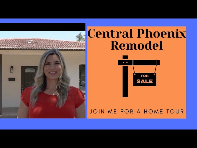 Walk-thru New Listing Central Phoenix | 2046 W. Medlock Drive, Phoenix, AZ 85015 | Celina Sells AZ