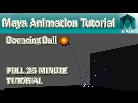 Maya Bouncing Ball Tutorial | 2016