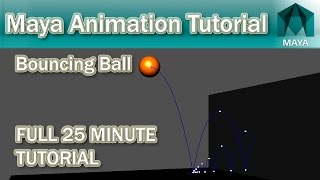 Maya Bouncing Ball Tutorial | 2016