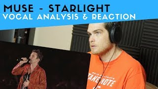 Vocal Analysis of Muse - Starlight (Voice Teacher Reacts)