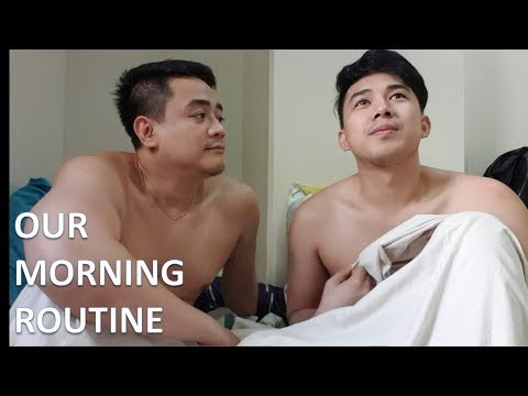 OUR MORNING ROUTINE | HUSBAND & HUSBAND |The Gonzie Show | LGBT Vlog