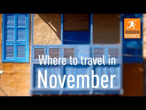The best places to travel in November