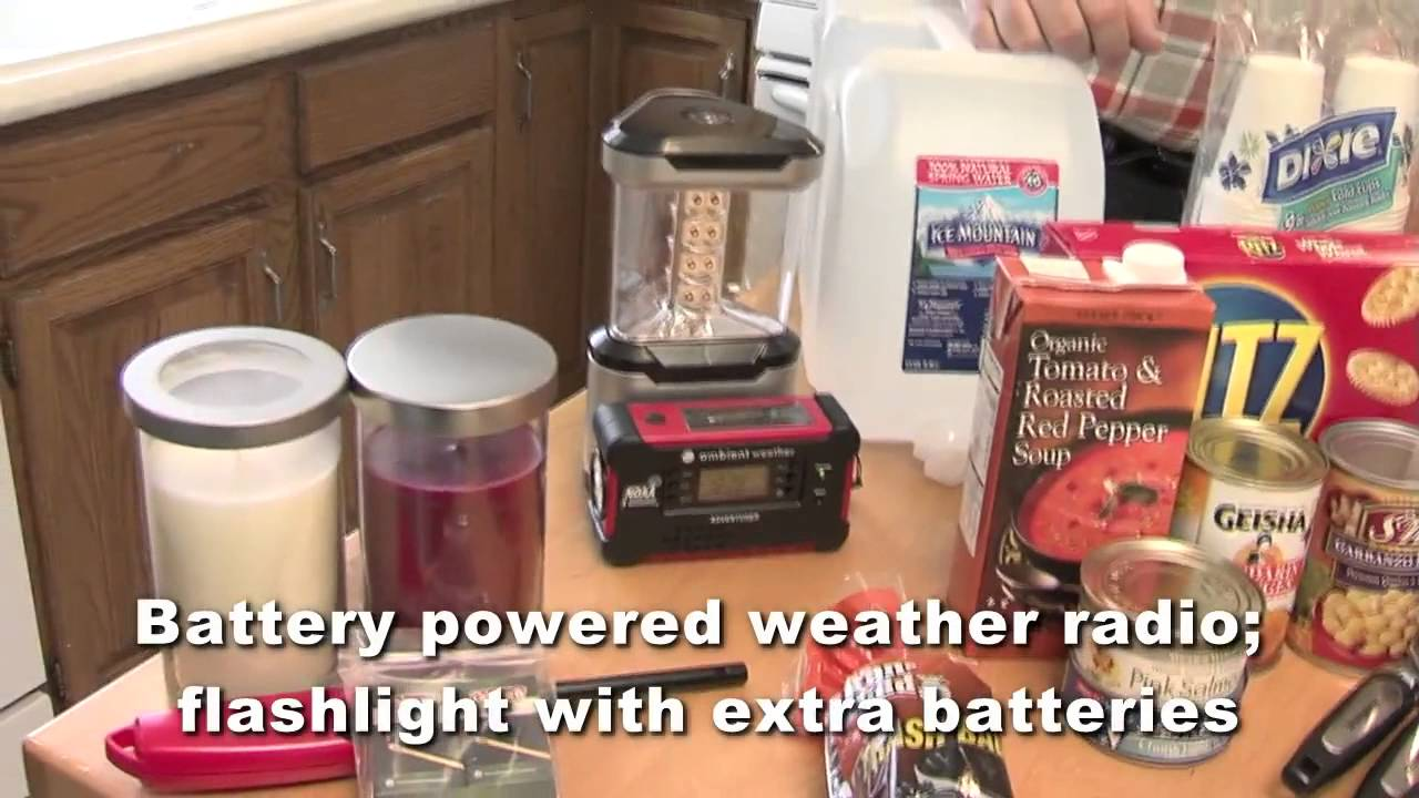 How to Prepare an Emergency Kit for a power outage