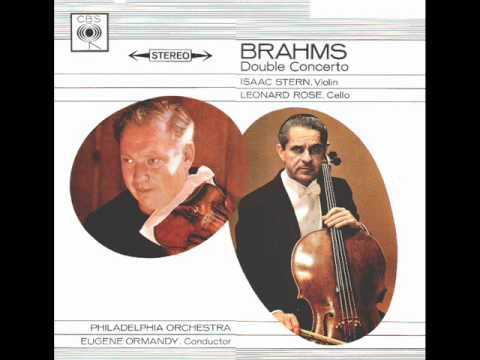 Brahms-Double Concerto for Violin, Violoncello and Orchestra in a minor Op. 102 (Complete)