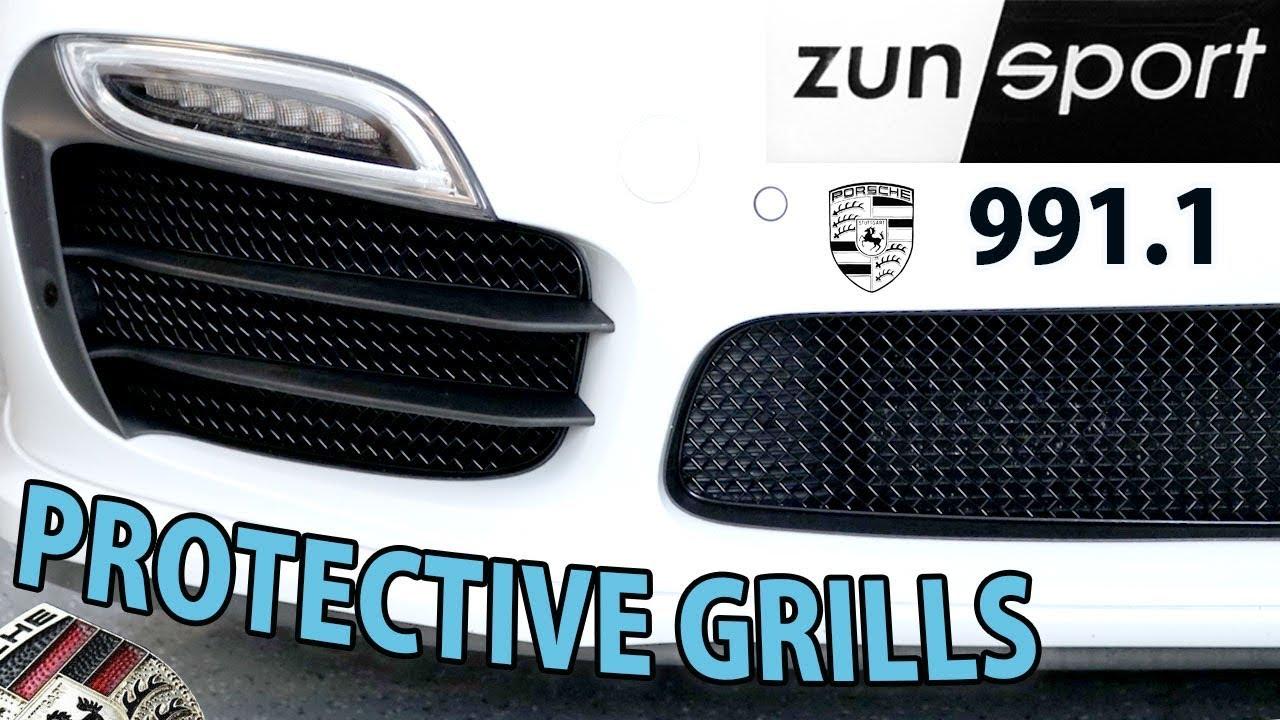 Porsche Targa 4S >> Porsche Zunsport Grill Installation - Porsche 991 911 ...