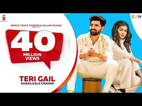 Teri Gail | Khasa Aala Chahar |Mahi Sharma |White Shirt Ya Teri | New Haryanvi Songs Haryanavi 2020