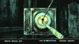 Repeat youtube video [SKYRIM] How To's - The Secret of Lockpicking