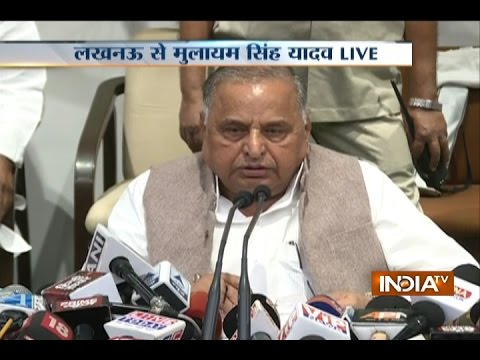 SP Chief Mulayam Singh Yadav Over Ban On Rs 500 And Rs 1000 Notes And Black Money