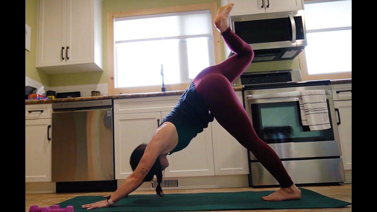 60 minute Yoga Sculpt - YouTube