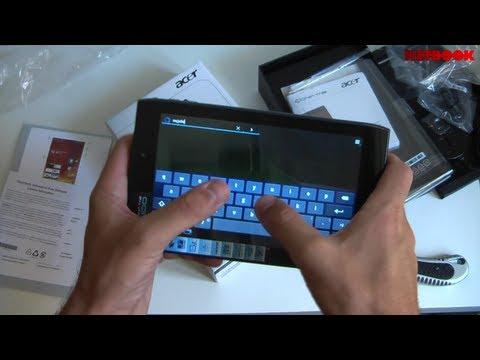 Acer Iconia Tab A100 - Unbox e Prime Impressioni