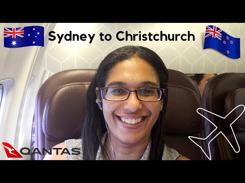 Flying Sydney To Christchurch | Qantas Business Class Review