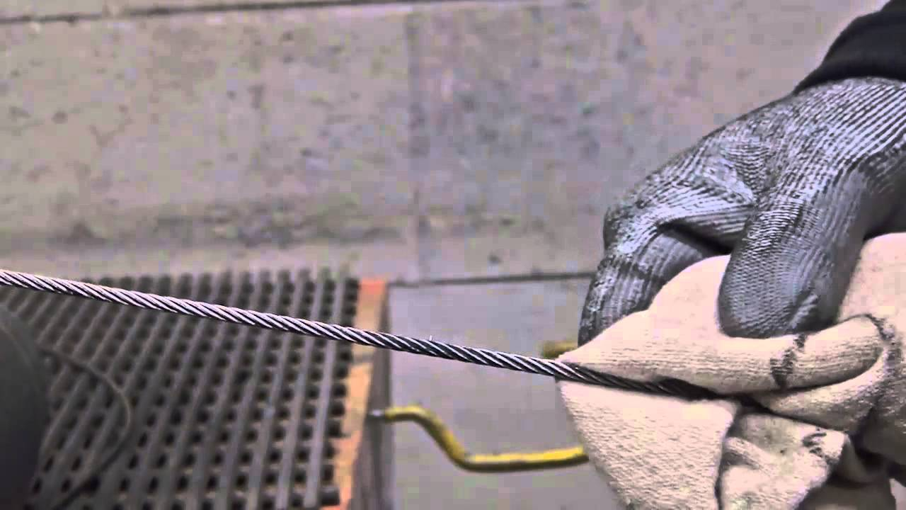 Flight Control Cables : Flight control cable inspection youtube