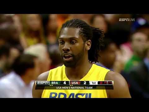 [SPORT PLANET]   Brazil vs USA    2012 Olympic Basketball Exhibition FULL GAME HD [SPORT PLANET]