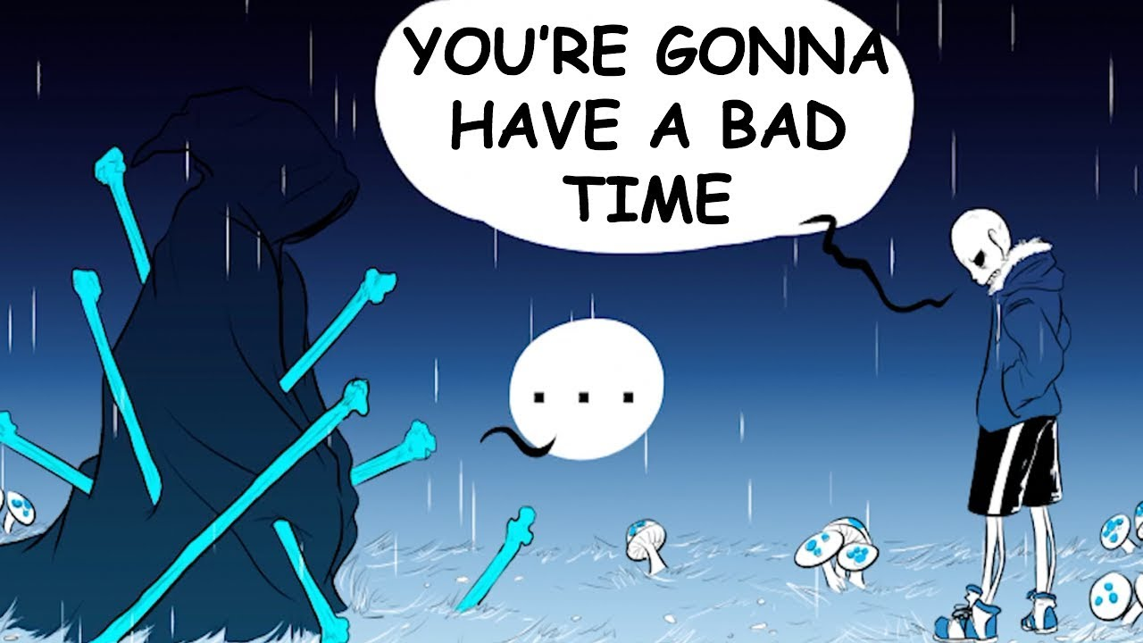 RIVERPERSON has a BAD Time! - The River's Warning Part 1 (undertale comic  dub)