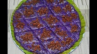 Ube Rice Maja  Rice Maja With Ube  Filipino Kakanin