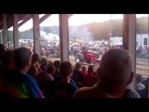 Allegany County Fair Angelica Ny 2012 July Truck & Tractor Pulls