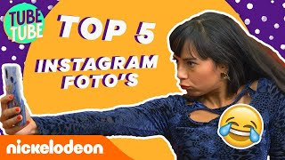 📸 Top 5 Instaselfies! 💁‍♀️ | TubeTube | Nickelodeon Nederlands
