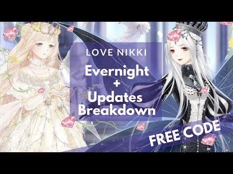 Love Nikki - EVERNIGHT + UPDATE BREAKDOWN (FREE CODE IN DESCRIPTION BOX)
