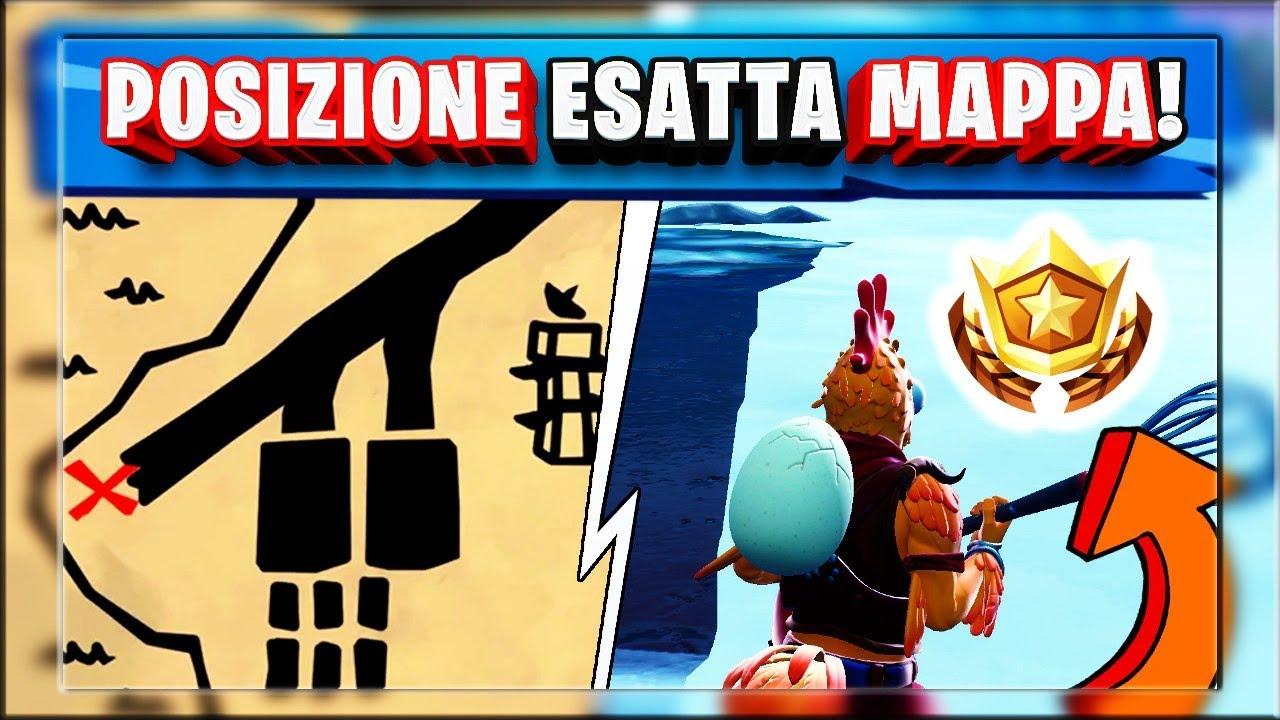 Segui Il Cartello Della Mappa Del Tesoro A Palmeto ...