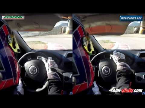 Federal 595 RS-R vs Michelin Pilot Sport Cup 2