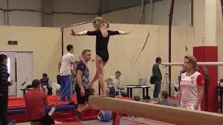 Сдача на 3-й юношеский разряд (спортивная гимнастика, 5 лет) Черняк Варвара