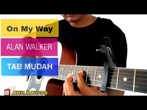 on-my-way---alan-walker-|fingerstyle-guitar-cover|-(tab-mudah)