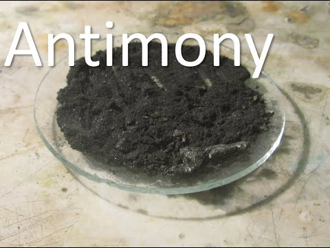 Elemental Syntheses - Antimony