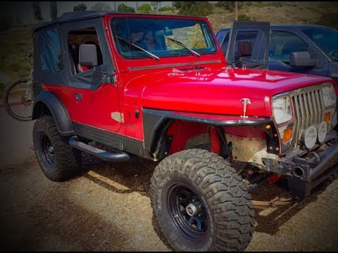 Nic's 1992 Jeep YJ Gets A New Stereo And New Speakers!