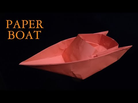 ✪ DIY Paper Boat | How to make a Boat from Paper ✪ StarTech Tips ✪