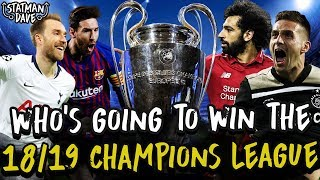 My 2018/19 Champions League Semi-Final & Final Predictions | Spurs vs Ajax, Liverpool vs Barcelona