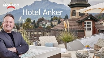 Hotel und Restaurant Anker, Luzern, Turm-Suite mit Whirlpool, City-Tipp